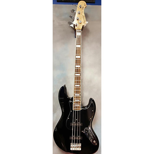In Store Used Used Signature Handmade Basses Custom J Bass Black Electric Bass Guitar
