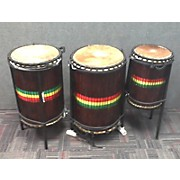 Used Sky-Line 3 Piece Djun Djun 3 Set Hand Drum