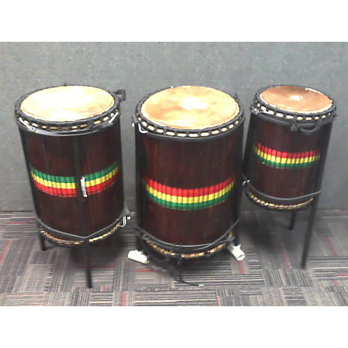 In Store Used Used Sky-Line 3 Piece Djun Djun 3 Set Hand Drum