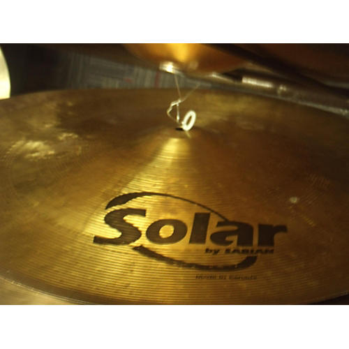 In Store Used Used Solar 18in China Cymbal  38