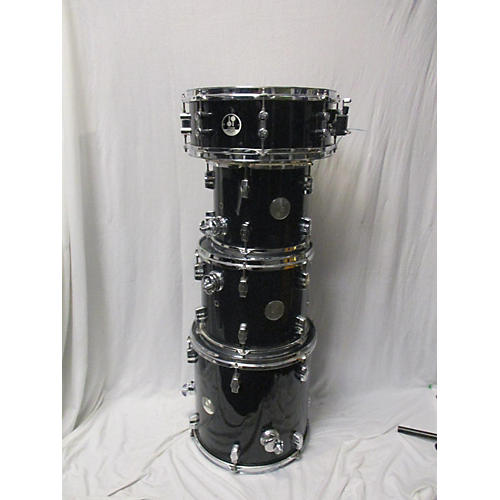 In Store Used Used Sona 5 piece 5 Piece Drum Kit Black Drum Kit