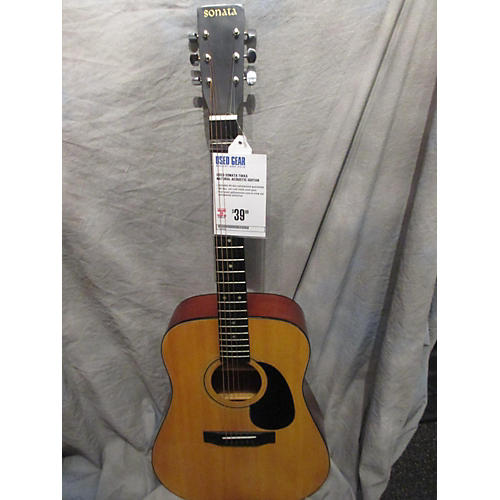 In Store Used Used Sonata Tikka Natural Acoustic Guitar