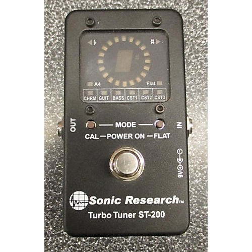 In Store Used Used Sonic ResEARCH TURBO TUNER ST-200 Tuner Pedal