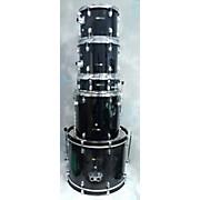 Used Sound Percussion 5 piece Bundle Black Drum Kit