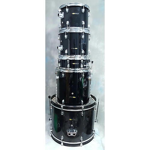In Store Used Used Sound Percussion 5 piece Bundle Black Drum Kit