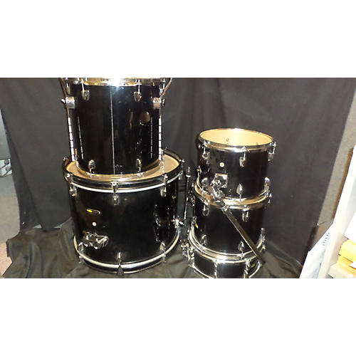 In Store Used Used Sound Percussion 5 piece Labs Black Drum Kit Black