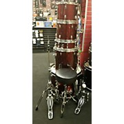Used Sound Percussion 5 piece SP5A1WR Wine Red Drum Kit