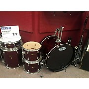 Used Sound Percussion 5 piece Unity Red Sparkle Drum Kit
