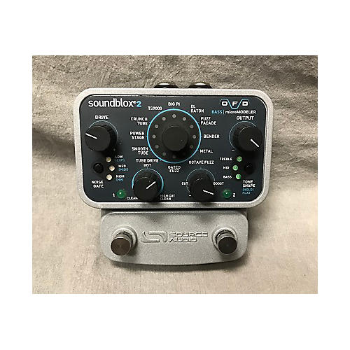 In Store Used Used Soundblox Bass Micro Modeler Bass Effect Pedal