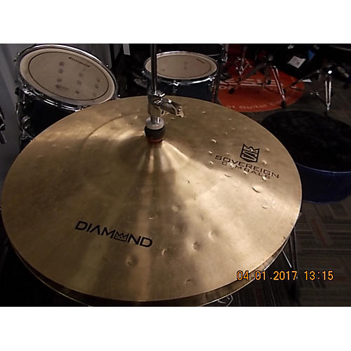 In Store Used Used Sovereign 15in Diamond Cymbal-thumbnail