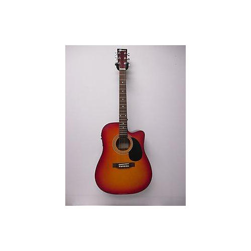 In Store Used Used Spencer Cutaway Sunburst Acoustic Electric Guitar