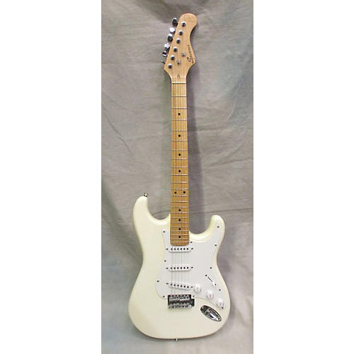 In Store Used Used Spencer S Style White Solid Body Electric Guitar-thumbnail