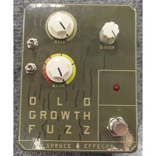 In Store Used Used Spruce Effects Old Growth Fuzz Effect Pedal