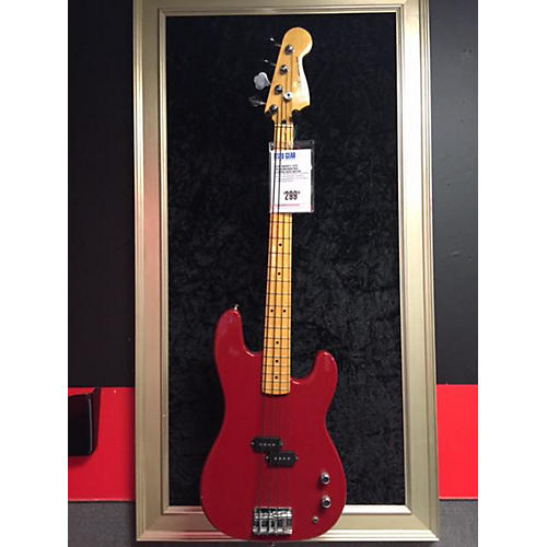 In Store Used Used Squier II 1979 Precision Bass Red Electric Bass Guitar Red