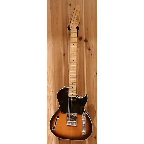 In Store Used Used St.blues Bluesmaster Vintage Sunburst Hollow Body Electric Guitar-thumbnail