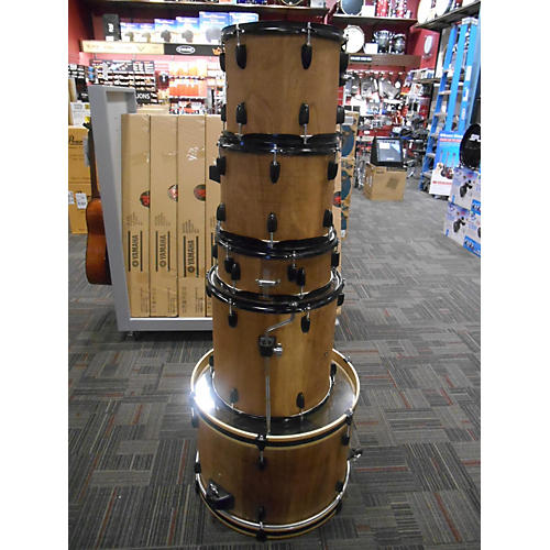 In Store Used Used Stage Rocker 5 piece 5 Piece Drum Set Natural Drum Kit-thumbnail