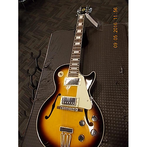 In Store Used Used Stellar Mercury 003 2 Color Sunburst Hollow Body Electric Guitar-thumbnail