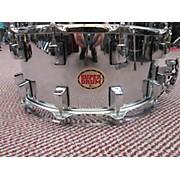 Used SuperDrum 12 6.5X14 12 Lug Snare Drum Chrome