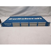 Used Swithcraft Studio Patch 6425 Patch Bay