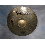 Used Symrna 21in Raven Ride Cymbal