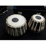 Used TABLA SET W/ CASE 4.5X10 TABLAS Hand Drum