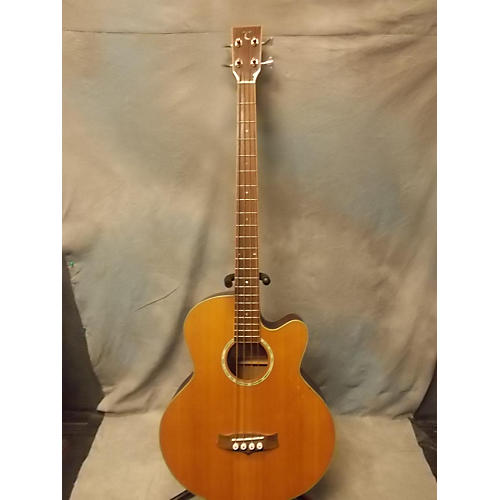 In Store Used Used TANGLEWOOD TAB1CE Natural Acoustic Bass Guitar-thumbnail