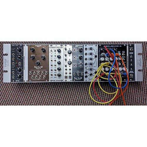 used tiptop audio rack synth with modules synthesizer guitar center. Black Bedroom Furniture Sets. Home Design Ideas