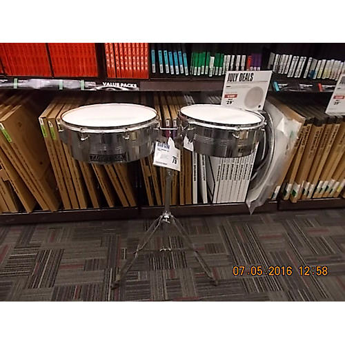 In Store Used Used TJ Percussion Steel Timbales-thumbnail
