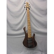 Used TOM CLEMENT CUSTOM 6 Phoenix Natural Electric Bass Guitar