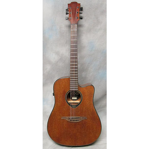 In Store Used Used TRAMONTANE T77DCE Worn Brown Acoustic Electric Guitar