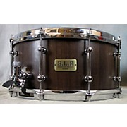 Used Tama Drums S.L.P. 6.5X14 G-Walnut Drum Wooden Brown