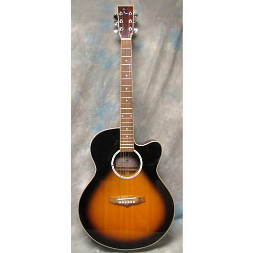 In Store Used Used Tanglewood Evolution 2 Color Sunburst Acoustic Guitar-thumbnail