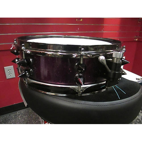 In Store Used Used Tempus 3.5X13 Carbon Fiber Purple Sparkle Drum-thumbnail