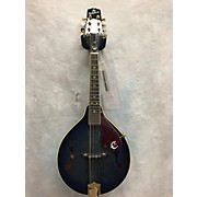 Used The Epiphone MM30SE Acoustic-Electric Blue Mandolin