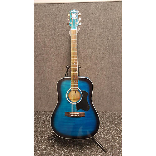 In Store Used Used The Old Hickory D42FBB Blue Acoustic Guitar