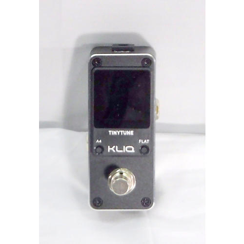 In Store Used Used Tinytune Kliq Tuner Pedal