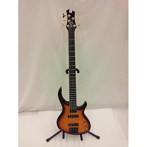 In Store Used Used Toby EBD5VSBH1 Deluxe V 5 String Vintage Sunburst Electric Bass Guitar