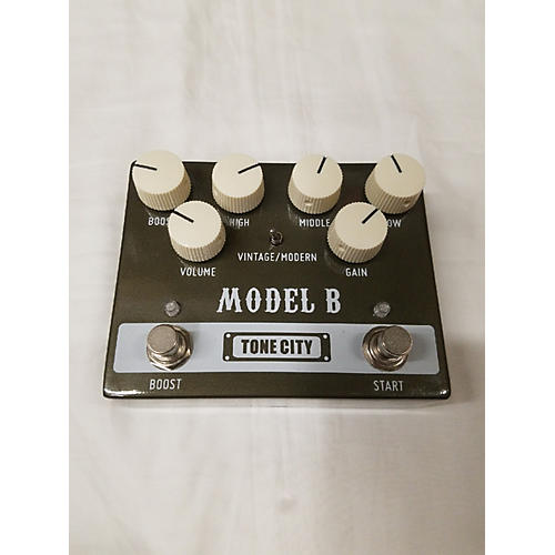 In Store Used Used Tone City Model B Effect Pedal