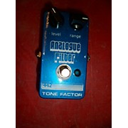 Used Tone Factor Analogue Filter 442 Bass Effect Pedal