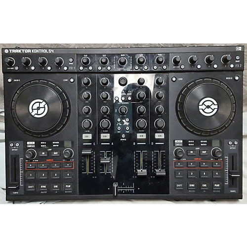 In Store Used Used Traktor Kontrol S4 DJ Controller-thumbnail
