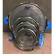 Used Traps 4 piece Portable Travel Drum Kit
