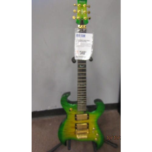 In Store Used Used Tregan Syren Green Solid Body Electric Guitar Green