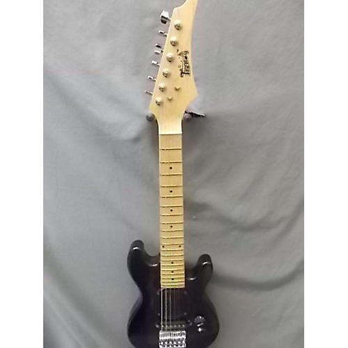 In Store Used Used Trendy Double Cut Speaker Sparkle Galaxy Black Electric Guitar-thumbnail