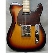 Used Tribute By G&l ASAT Classic 3 Tone Sunburst Hollow Body Electric Guitar