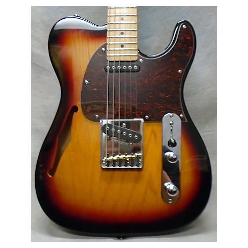 In Store Used Used Tribute By G&l ASAT Classic 3 Tone Sunburst Hollow Body Electric Guitar-thumbnail