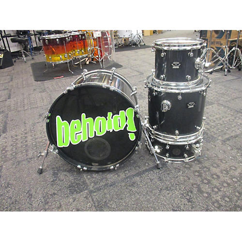 In Store Used Used Trick Drums 4 piece Classic Line Black Sparkle Drum Kit Black Sparkle