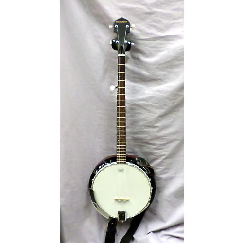 In Store Used Used Trinity River Closed Back Brown Banjo-thumbnail