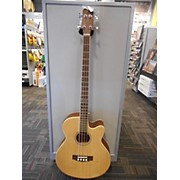 Used Trinity River Ob3ce Natural Acoustic Bass Guitar