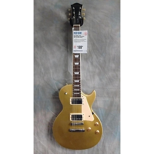 In Store Used Used Trinity River Singlecutaway Gold Solid Body Electric Guitar
