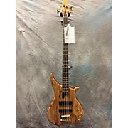 Used Tune Twb43 Spalted Maple Electric Bass Guitar